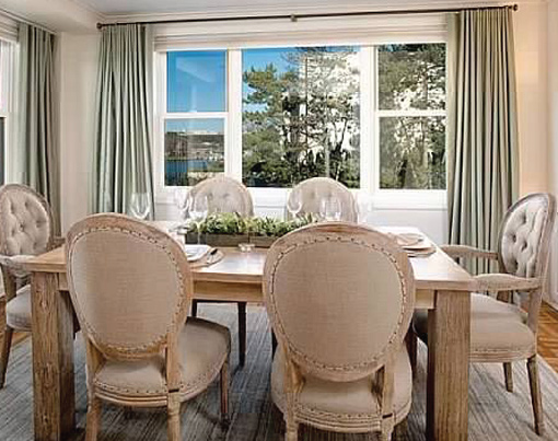 After-A Dining Room Staging Project