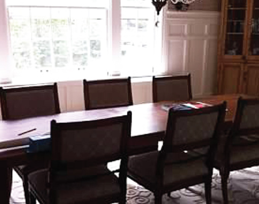 Before-A Dining Room Redesign