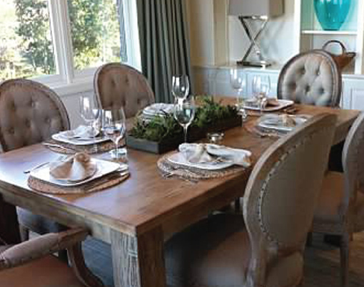 After-Dining Room Staging #2