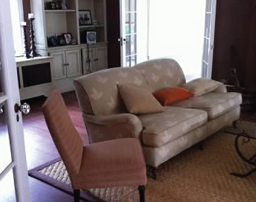 Before-A Living Room Redesign